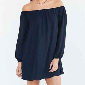 ecote'  Urban Outfitters Off Shoulder Swing Dress
